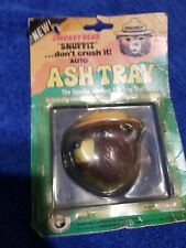 NOS Smokey the Bear Snuffit Ash Tray in Original Packaging