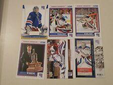 Henrik Lundqvist hockey cards U PICK