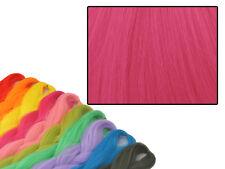 CYBERLOXSHOP PHANTASIA KANEKALON JUMBO BRAID HOT MAGENTA PINK HAIR DREADS