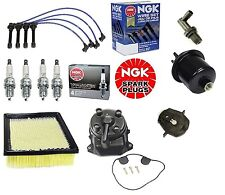 Complete Tune Up Kit Filters,Cap,Rotor,NGK Wires & Plugs Honda Civic HX 96-00