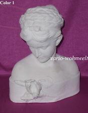 Büste Büsten Iris Frau Statue Statuen Figur Skulptur 2004 / Material : Stuckgips