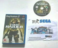 TOMB RAIDER UNDERWORLD for PLAYSTATION 2 'VERY DESIRABLE AND HARD TO FIND'
