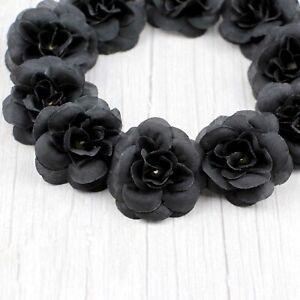 10/25 Artificial Fake Small Rose Silk Flower Head DIY Wedding Party Home Decor