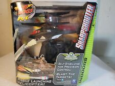 New Air Hogs R/C Sharpshooter Tracer Fire Missile Launching Helicopter