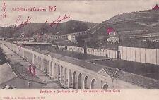 BOLOGNA - Porticato e Santuario di S.Luca veduto dall'Arco Guidi 1904