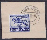 DR Mi Nr. 746, gest. Glauchau 1941 auf Briefstück, gr. Deutschlandpreis, used