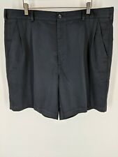 "IZOD Golf Men's 8.5"" Inseam Black Shorts Size 40 sports summer wear stylish"