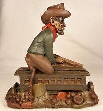Jesse-R 1989~Tom Clark Gnome~Cairn Studio Item #5086~Ed #37~Train Series~w/Story