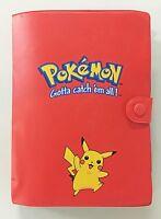 Pokemon Pikachu Gotta Catch 'em all Folder + Rare Holos, Rev Holos, Aquapolis