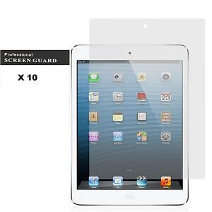 10 x Ultra Clear LCD FrontFilm Screen Protector Cover Guard Fit For iPad Air