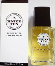 KNIZE TEN  Toilet Water - Eau de Toilette Natural Spray 125 ml  4.22 fl.oz NIB !