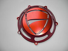 Ducati Kupplungsdeckel offen rot  neu  mit Ducati-Logo