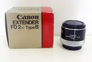 [MINT] Canon Extender FD 2x-B + Box (A7, m4/3, MFT, Fuji X) - #16950
