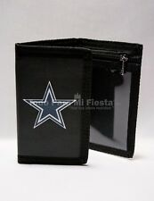 Dallas Cowboys Black Wallet Tri Fold NFL Wallet Cowboys Cartera Negra Cowboys
