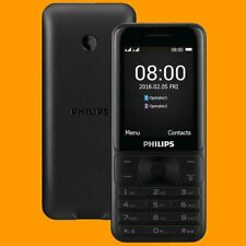 Philips E181 0.3MP FM A2DP 143 Days Dual SIM Standby GSM 2G Quadband Cell Phone