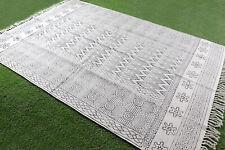 5x7.ft Dari Rug Area Handmde Cotton Carpet Home Decor Floor Rug Area Rug Runner