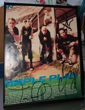 Early Simple Plan Autographed Insert