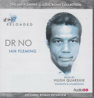 Ian Fleming Dr No 8CD Audio Book NEW Unabridged James Bond 007 FASTPOST