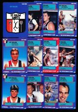 Scanlens Team Set Sports Trading Cards & Accessories