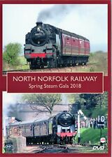 North Norfolk Railway - Spring Steam Gala 2018. DVD.