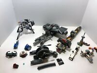 LEGO Star Wars Parts LOT 3: turbotank, sith infiltrator 7961, tank 7748, etc