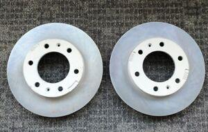 2 x Front Disc Rotor LDV V80 Van 2.5L Diesel Full Set 2013-on