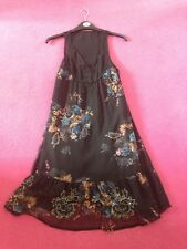 River Island Dress UK 8 - Black Floral With Beads & Sequins - BNWT! ✨