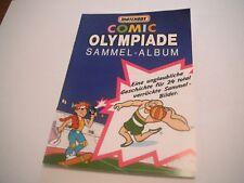 Original Matchbox 1990s Comic Olympiade (sticker) German Pocket Catalog