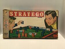 Vintage 1960's STRATEGO War Strategy Board Game Milton Bradley Complete Set