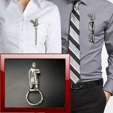 Saxon King 7th box1 I Pewter Pin Brooch Drop Hoop Holder Glasses,Pen,Jewellery