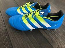 Adidas ACE Predator 16.1 SG Leather - Blue/Green/White