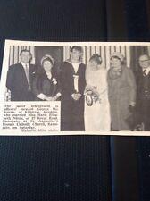 65-5 Ephemera 1966 Picture Wedding Ramsgate G Mckenzie Marie Nixon