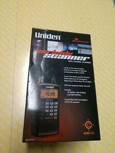 Uniden Bearcat 300-Channel Handheld Portable Scanner with Antenna BC75XLT - New!