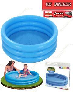 Intex 58446NP 1.14m x 25cm Inflatable Kids Pool - Crystal Blue