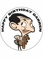 7.5 MR BEAN TV STAR EDIBLE ICING BIRTHDAY CAKE TOPPER