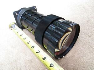 Vintage Adjustable LARGE HEAVY Internal Copier Projector Lens Parts Steam VH