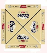 COORS BANQUET 9 foot BEER UMBRELLA MARKET PATIO STYLE NEW HUGE