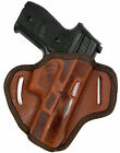 AKAR Brown Leather Right Hand OWB OPEN TOP Belt Holster for SIG SAUER P229