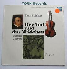 INT 120.824 - SCHUBERT Der Tod Und Das Madchen DA NOVAK QUARTETT - Ex LP Record
