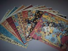 """GRAPHIC 45 """"LE CIRQUE"""" 12X12 PAPER LOT - 10 SHEETS. DISCONTINUED & HTF"""