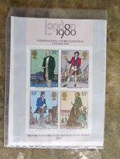 Gb 1979 Britain's 2nd Miniature Sheet Ms1099 : Mint, in case, with notes