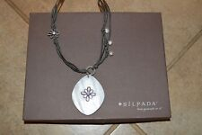 Silpada Grace Notes Necklace with Pearl Pendant N2226