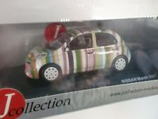 J COLLECTION 1/43 - NISSAN MICRA 2007 STRIPE VERSION