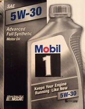 Mobil 1 94001 5W-30 Synthetic Motor Oil -<>- 1 Quart -<>- QUICK FREE SHIPPING