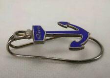 Stupendo Fermasoldi Riva Motoscafi in argento 925 e smalto, mai usato 6 x 3,5 cm