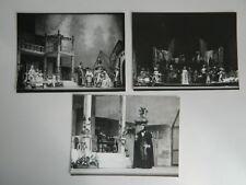 3 photo argentique Festival Aix-Les-Bains Werther Opéra Jules Massenet 1978