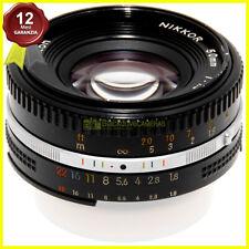 Nikon AI-S 50mm. f1,8 E. Obiettivo per fotocamere a pellicola e digitali