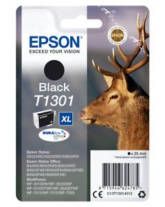 Original Epson Tintenpatrone Schwarz C13T13014012 T1301