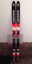 Vintage 1979 Blizzard Firebird Junior 150cm Downhill Skis Salomon S127 Bindings
