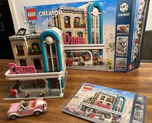 Lego Creator Expert 10260 American Diner in OVP wie Neu !!!